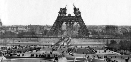 Как строили Эйфелеву башню
