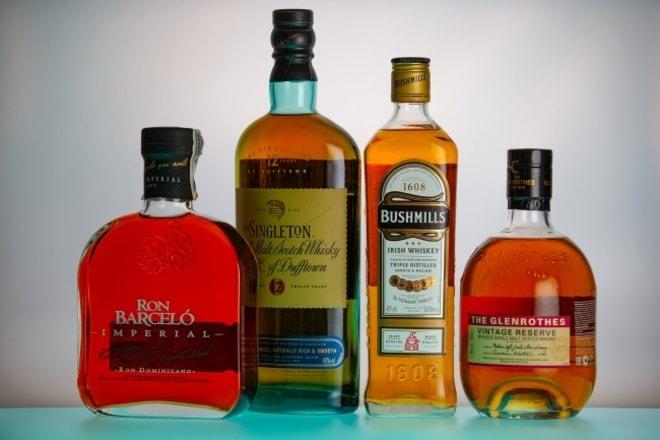 Крепкие спиртные напитки