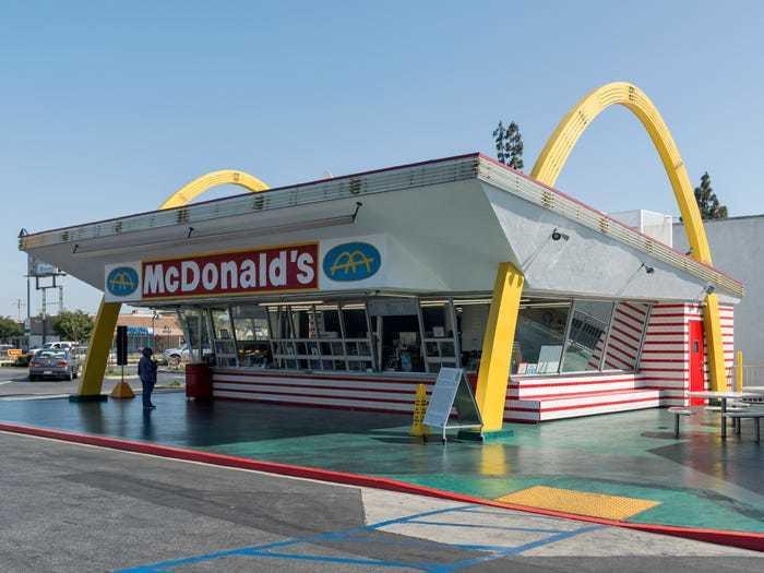 Макдональдс в Дауни, Калифорния