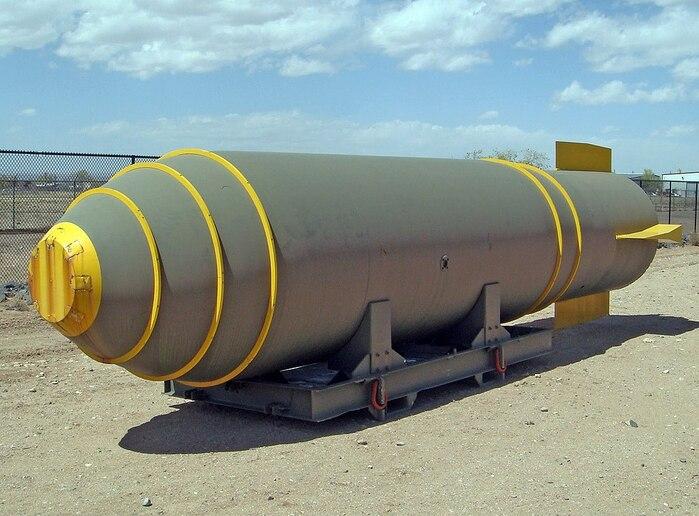 бомбой Mk17