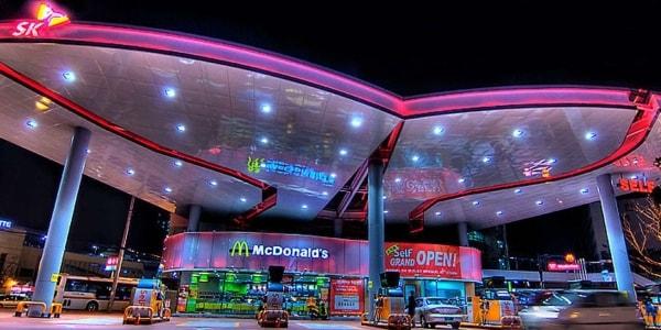 Необычный McDonald's