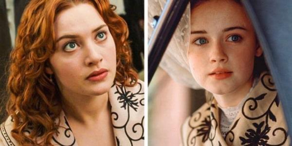 Одни и те же костюмы и предметы в разных фильмах