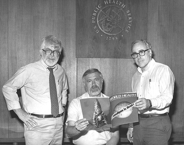 три бывших директора Глобальной программы ликвидации оспы