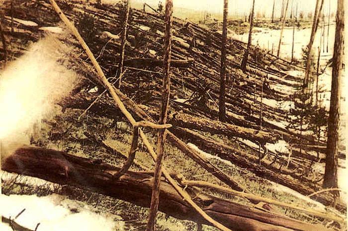 Падение Тунгусского метеорита