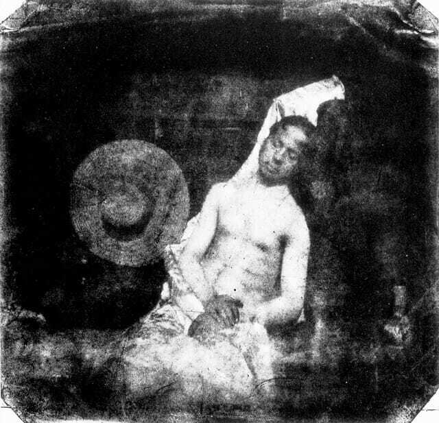 Первая фотография-фальсификация - 1840