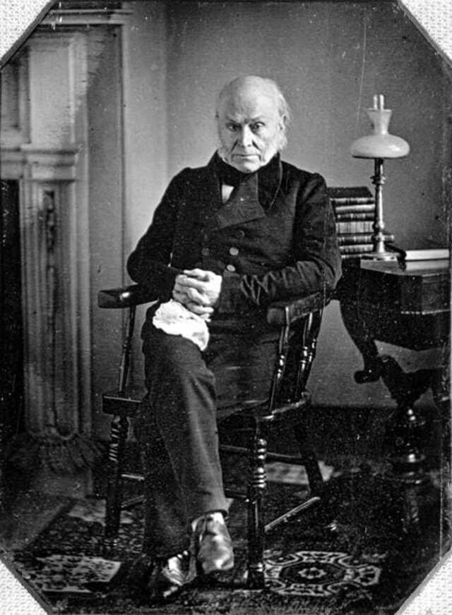 Первая фотография президента США - 1843