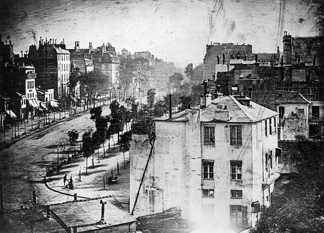 Первое фото человека - 1838