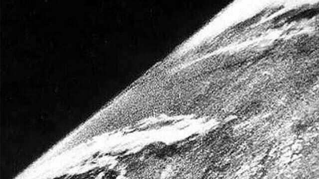 Первое фото из космоса - 1946