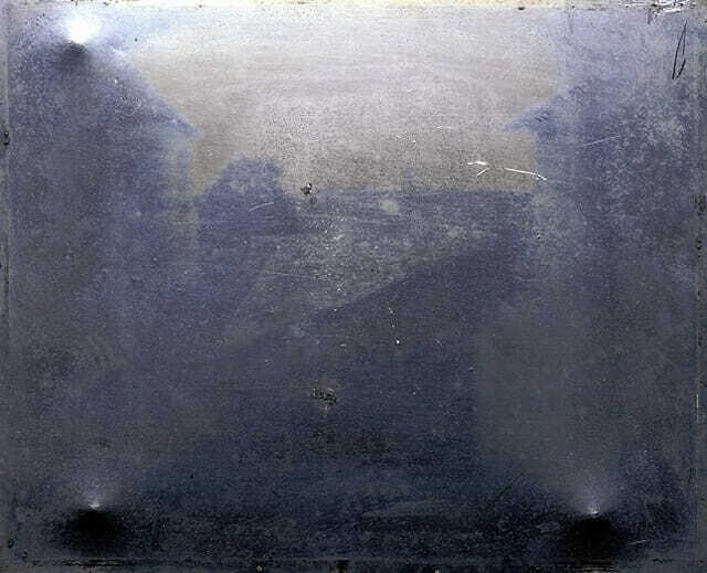 Первое в истории фото - 1826