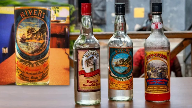 4. River Antoine Royale Grenadian Rum (90% Alcohol)