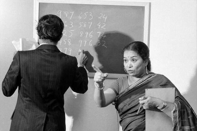 Шакунтала Деви – человек-компьютер