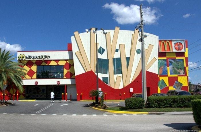 Самый большой в мире ресторан McDonald's