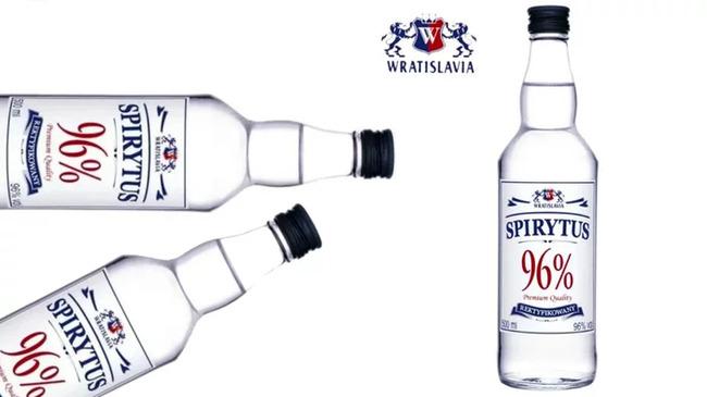 1. Spirytus Stawski (96% Alcohol)