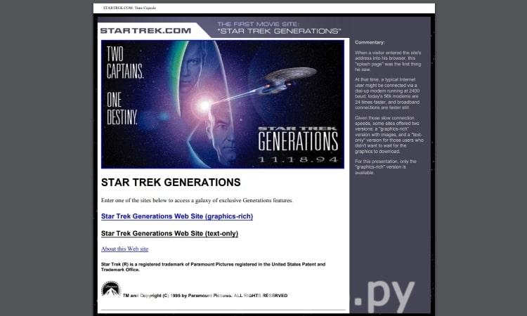 Star Trek Generations 1994