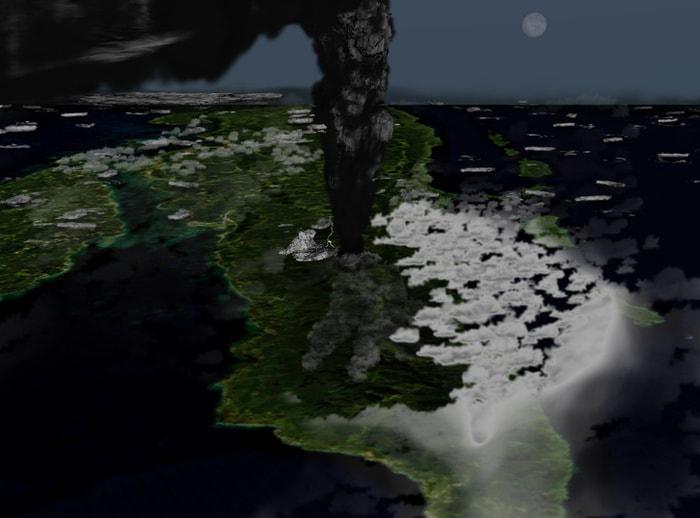 Супер-извержение Тоба
