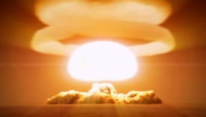 Грибное облако царской бомбы