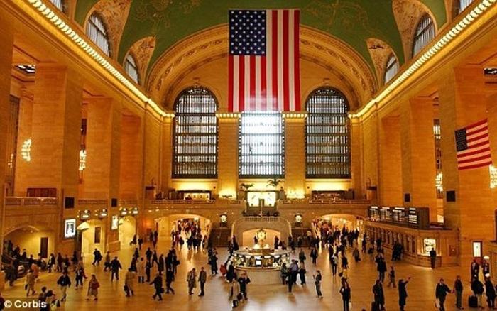 Вокзал в Нью-Йорке