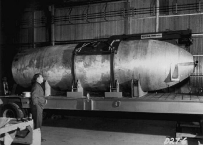 Ядерная бомба Mk-16 (Марк 16)