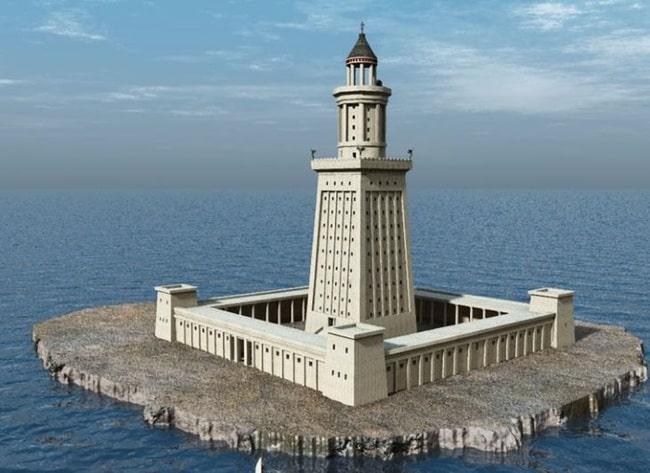 Реконструкция Александрийского маяка