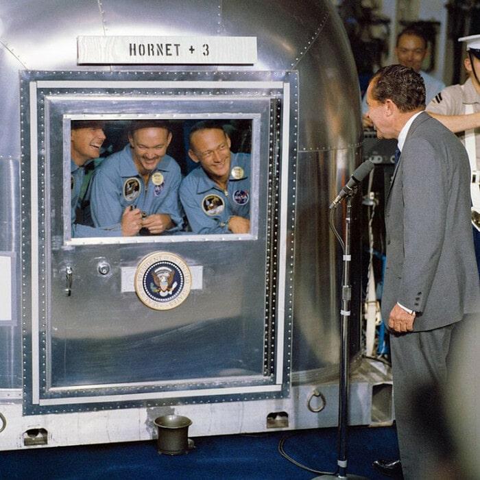 Карантин космонавтов Apollo 11,