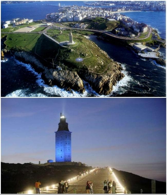 самый древний действующий маяк