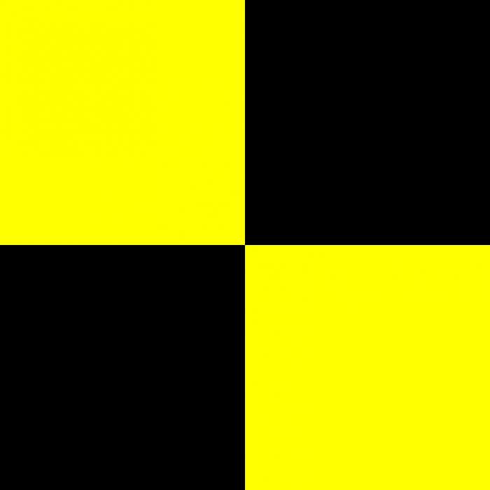 желто-черный флаг - Lima