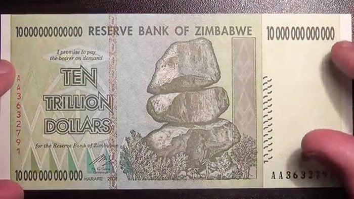 Доллары-Зимбабве