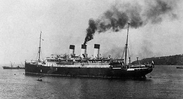 Немецкий корабль-самозванец