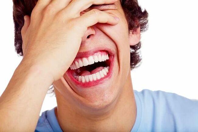 Смех полезен