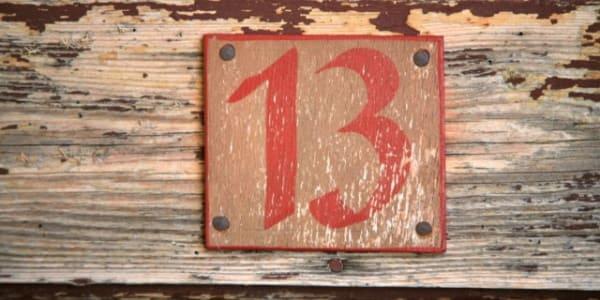 6 неожиданных фактов о числе 13