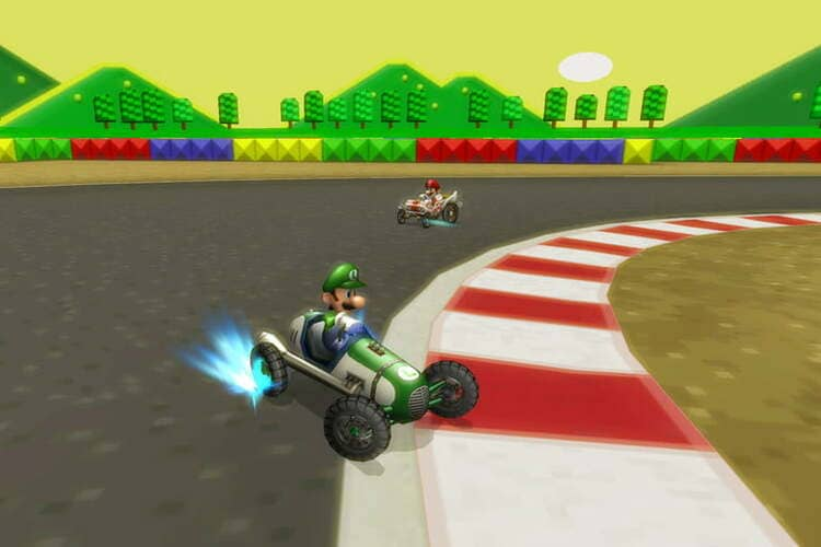 9. Mario Kart Wii