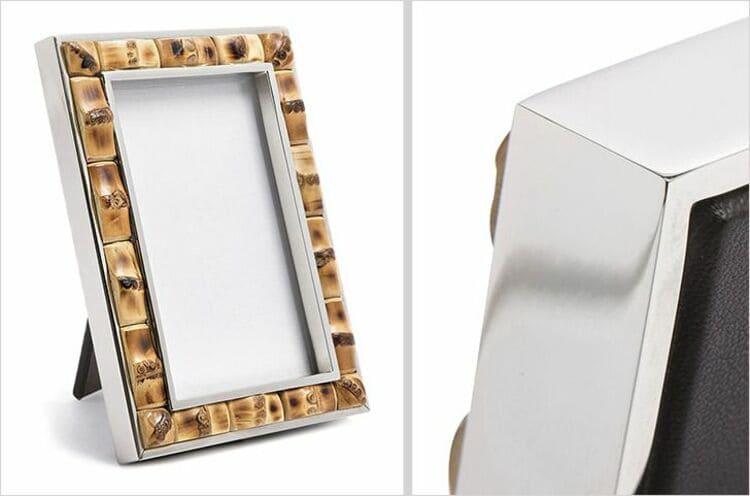 Бамбуковая рамка для фотографий от Lorenzi Milano