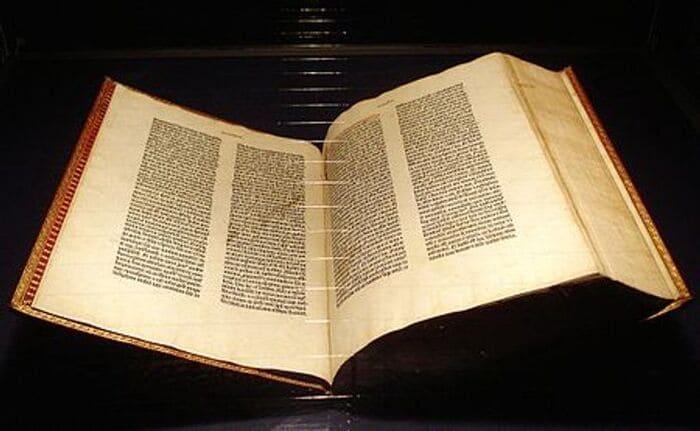 1. Библия Гутенберга