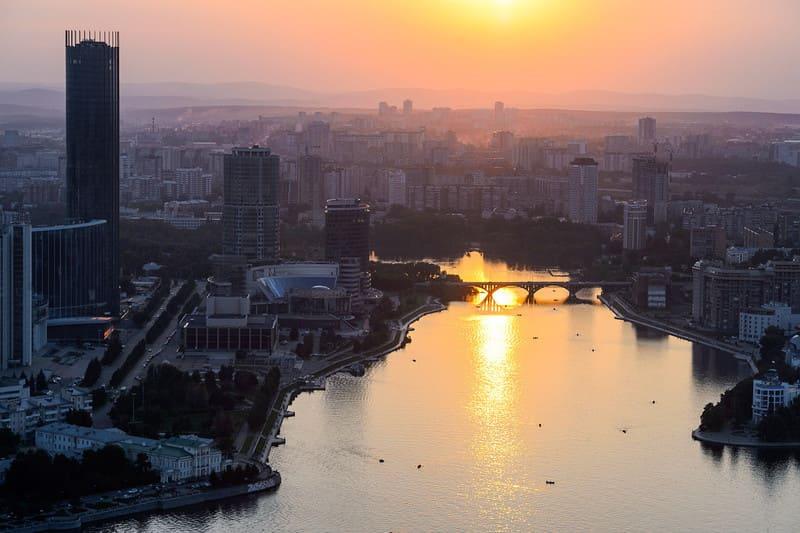Четвертый по величине город России - Екатеринбург