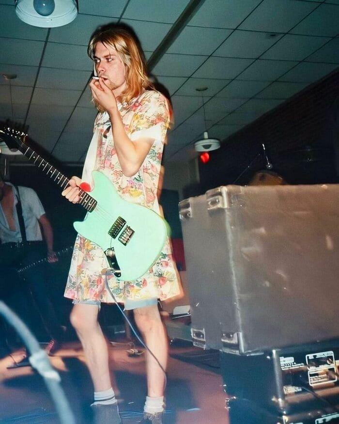 Курт в платье