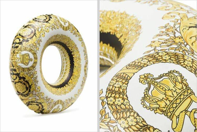 Надувная подушка от Versace