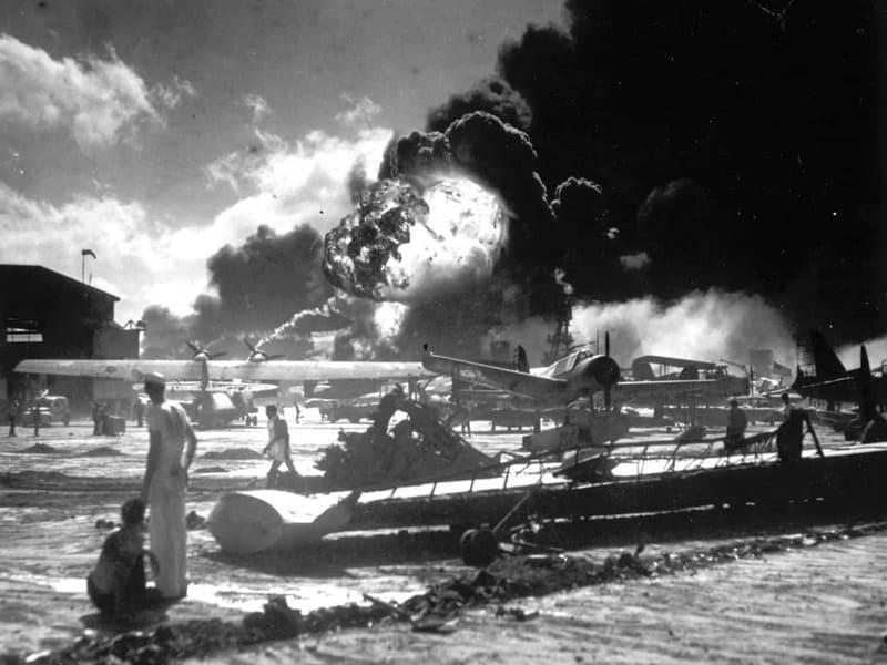 Нападение японцев на Перл-Харбор спровоцировано США