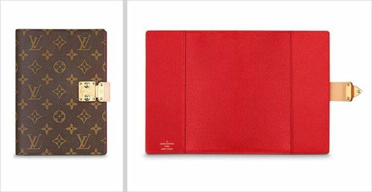 Обложка для блокнота от Louis Vuitton
