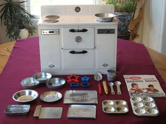 Кухонная плита для маленьких леди