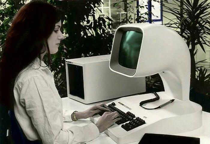 Реклама персонального компьютера Holborn 9100