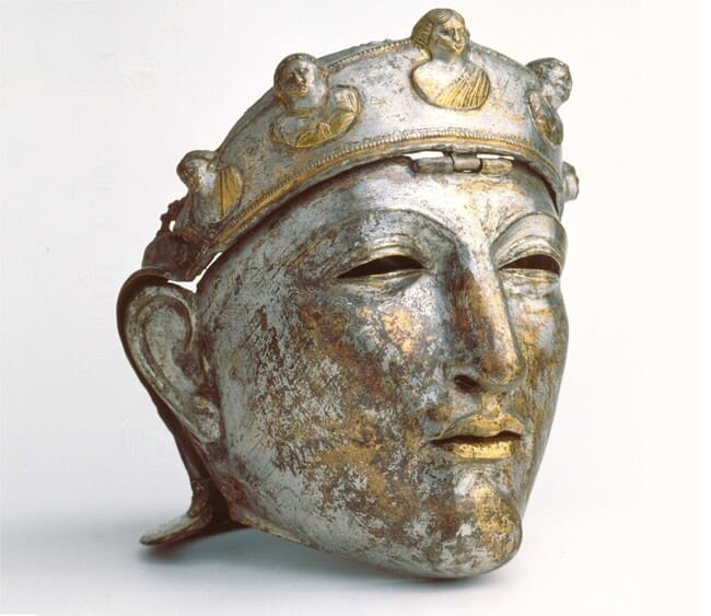 Шлем-маска элитной римской кавалерии