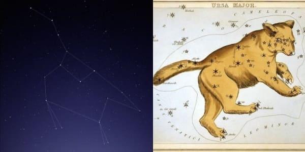 Самые известные созвездия на небе