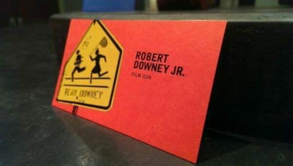 Визитная карточка Шерлока Холмса (Роберт Дауни-младший)