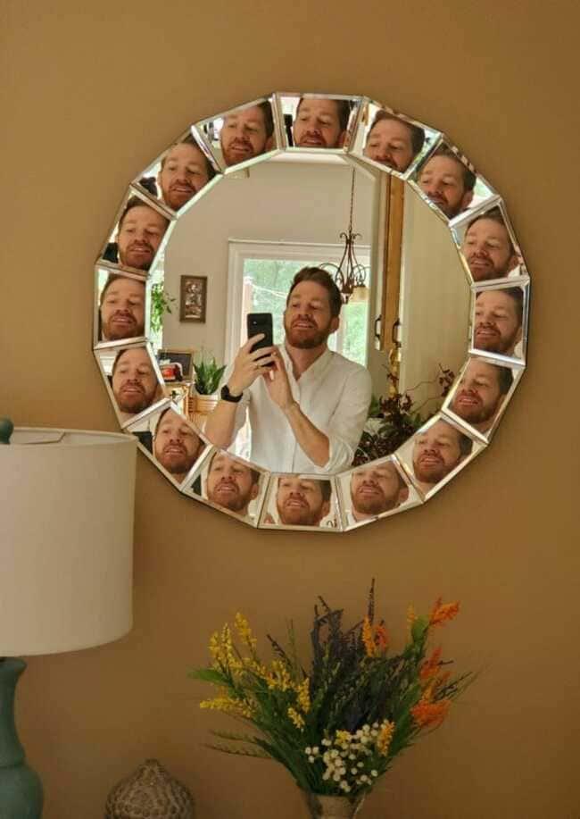 идеальное зеркало для нарциссов
