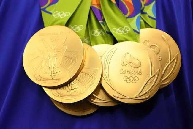 Золотые медали Олимпийских игр