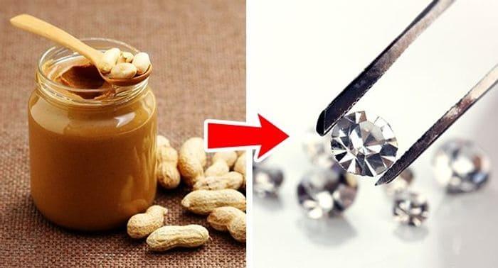 бриллианты из арахисового масла