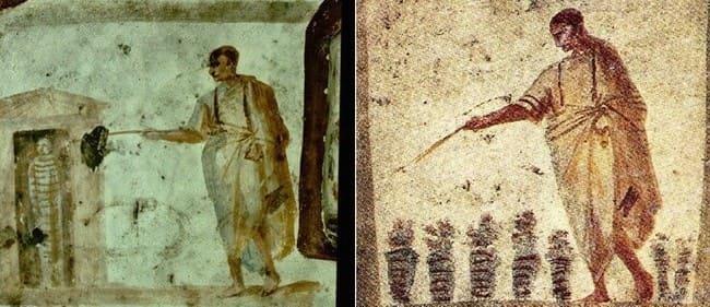 ранние изображения Иисуса