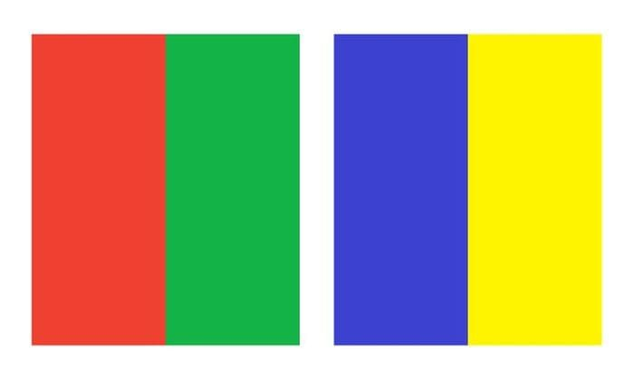 «запрещенные» цвета