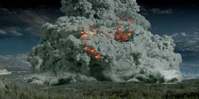 1. Супер-извержение Тоба, 77000 лет назад