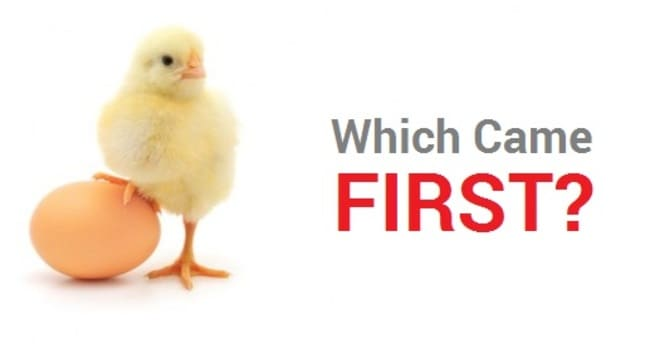 Что было первым - яйцо или курица